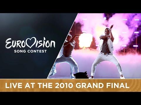 Jessy Matador - Allez Ola Olé (France) Live 2010 Eurovision Song Contest