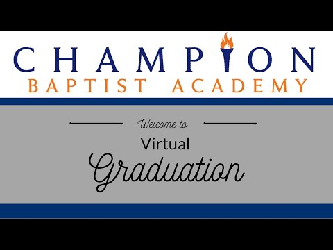 Champion Baptist Academy Kindergarten and Sixth Grade Graduation
