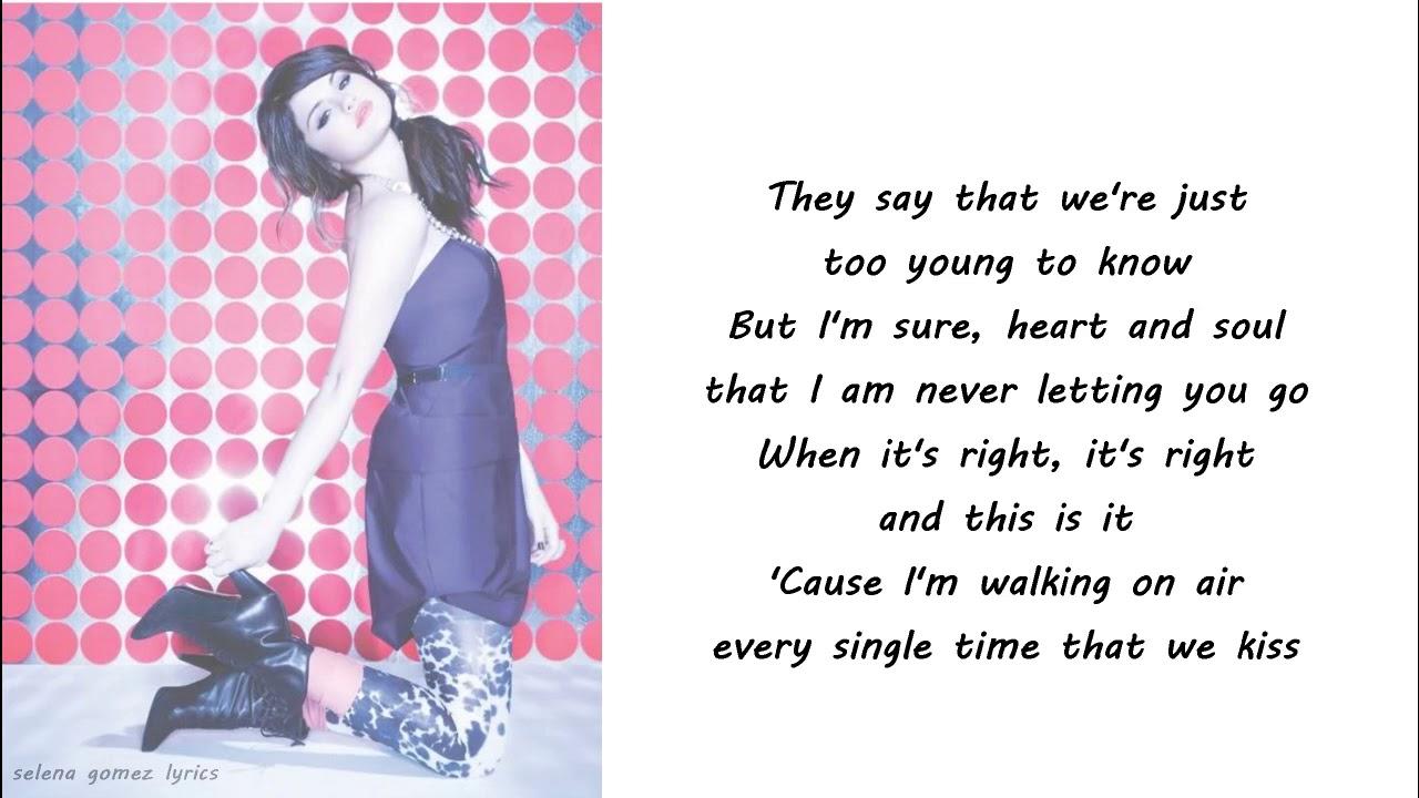 Download Selena Gomez - I Promise You Lyrics