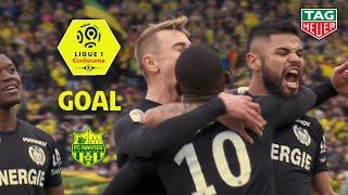 Goal Majeed WARIS (38' pen) / FC Nantes - Nîmes Olympique (2-4) (FCN-NIMES) / 2018-19