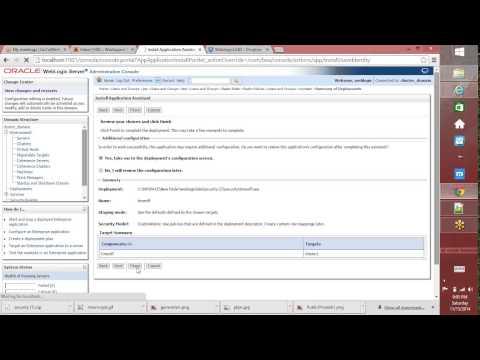 Security in weblogic