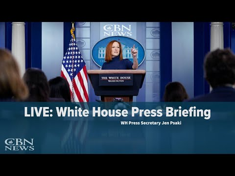 LIVE: WH Press Secretary Jen Psaki Briefs Nation — April 13, 2021 | CBN News