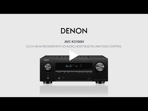 Amply Denon AVC-X3700H 2