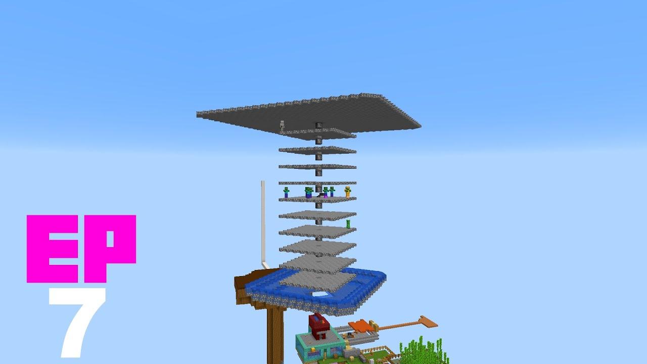 Minecraft en 1 bloque - EP7 - Las granjas perfectas para OneBlock