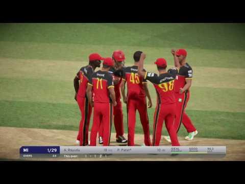 Don Bradman Cricket 17 | Royal Challengers Bangalore Vs Mumbai Indians | IPL Match Live #12