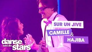 DALS S08 - Camille Lacourt, Hajiba Fahmy et Chris Marques pour un jive sur