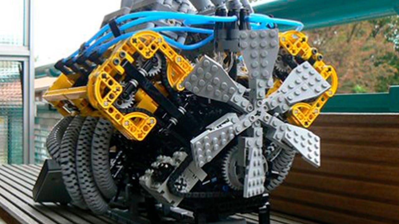 Die 7 erstaunlichsten Dinge - die aus LEGO gebaut wurden! - YouTube
