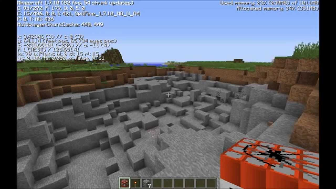 Minecraft AMD Radeon R7 260x 2GB