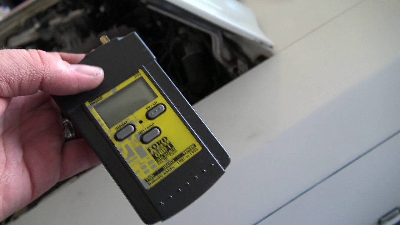 Foxbody Mustang - How to scan for codes with ford obd 1 scan tool