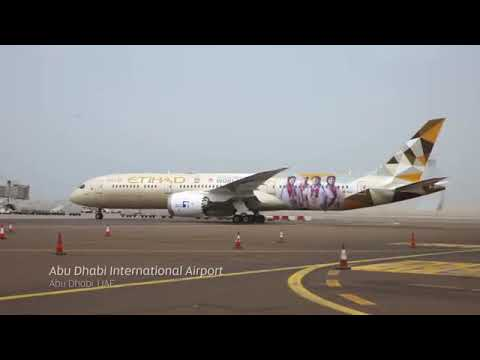 From Athens to Abu Dhabi: The Special Olympics World Games Flame of Hope flies with Etihad Airways