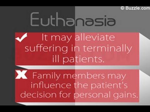 an argument in favor of euthanasia for terminally ill patient Free essay reviews that a terminally ill patient should have the right to dignity and with the slippery-slope argument against legalizing euthanasia.