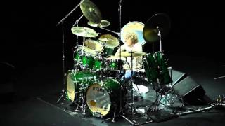 Simon Phillips Drum Solo - 4/2/2016 Howard Theater w/ Hiromi & Anthony Jackson
