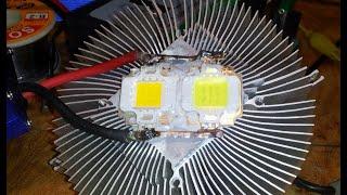 Правильное подключение светодиода 10 Ватт 12 вольт Часть 2(Ссылки касаемые темы видео находятся ниже: ----------------------------------------------------------------------------------------------------------------------..., 2014-08-31T15:22:30.000Z)