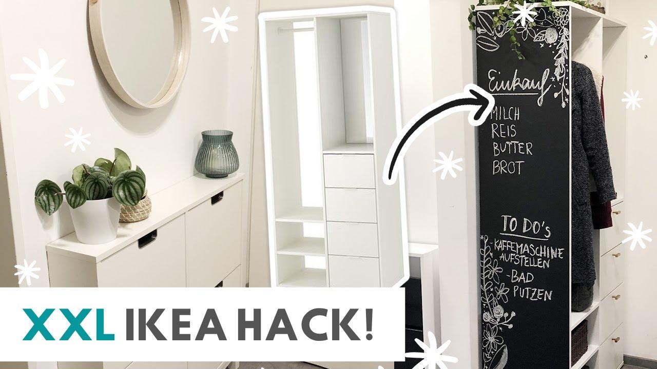XL DIY IKEA HACK Großes Flur Makeover