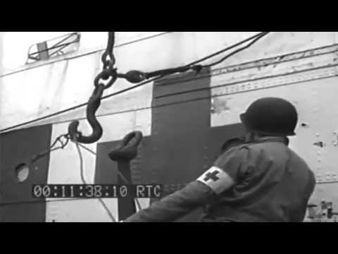 Invasion Of  France: Evacuation Of Casualties, 06/11/1944 (full)