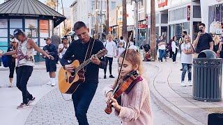 Smells Like Teen Spirit - Nirvana - Guitar and Violin - Dad & Daughter