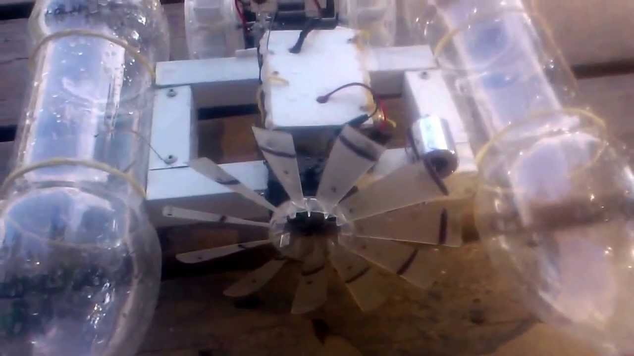 barco a control remoto - YouTube