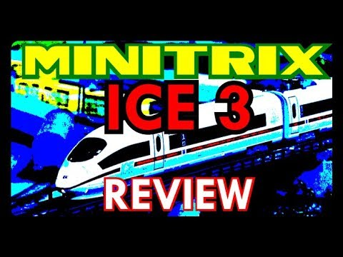 Minitrix ICE 3 Review N Scale