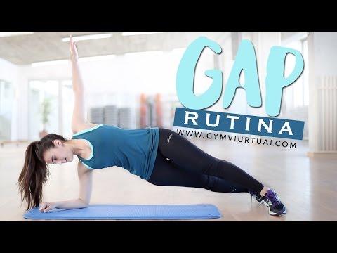 Ejercicios de glúteos, abdomen y piernas | Rutina de GAP