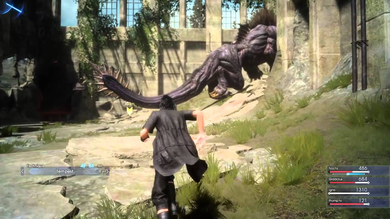 Judgement of a behemoth FFXV - YouTube Behemoth Final Fantasy 15