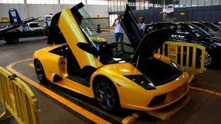 Lamborghini Murciélago Roadster no DETRAN