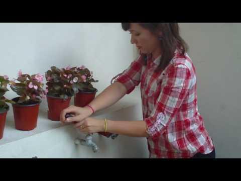 Cambiando una llave para agua changing a water tap doovi for Como cambiar un empaque de llave de regadera