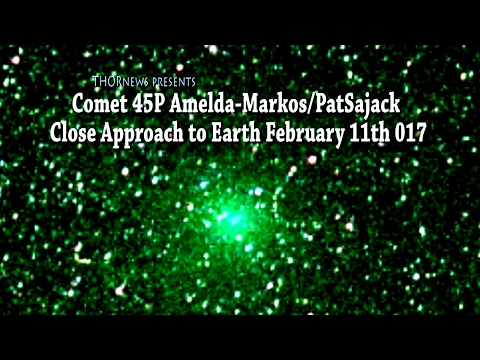 Comet 45P passes closest to Earth 2-11-2017