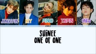 SHINee - 1 of 1 [Han/Rom/Eng] Picture + Color Coded Lyrics
