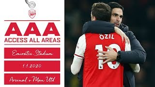 ACCESS ALL AREAS | Arsenal 2-0 Manchester United | Behind the scenes at Emirates Stadium