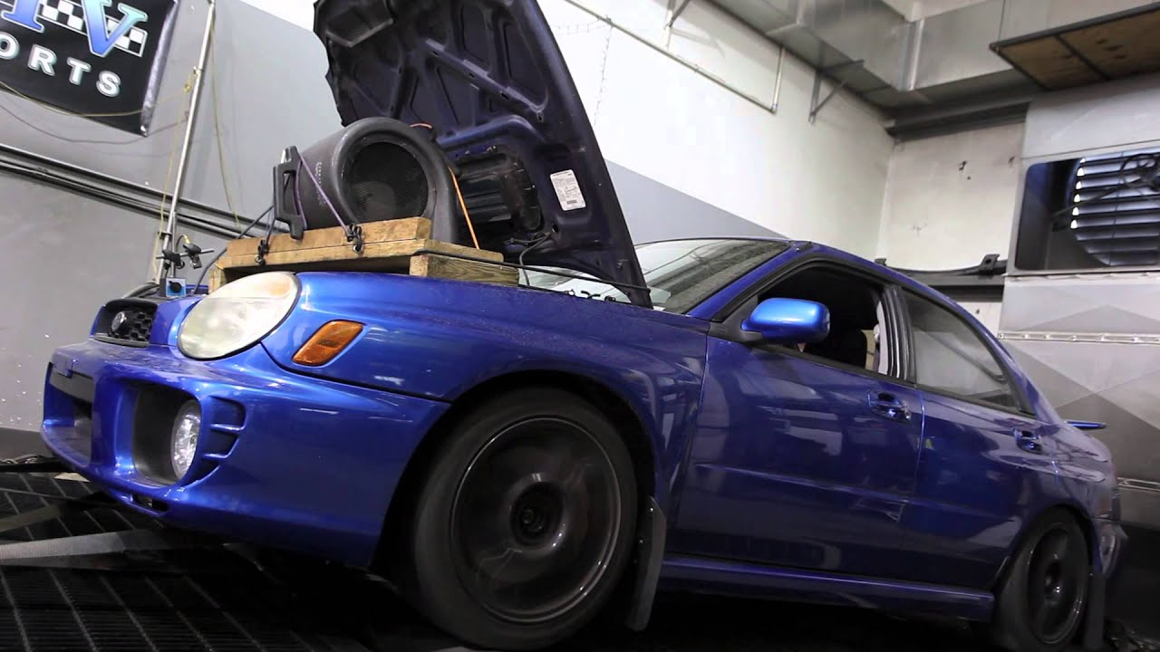 2003 Subaru WRX (with JDM EJ207 motor) dyno run