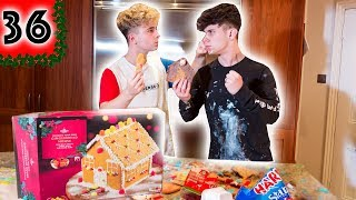 ROADTRIP VS - WHO CAN BUILD THE BEST GINGERBREAD HOUSES - VLOGMAS