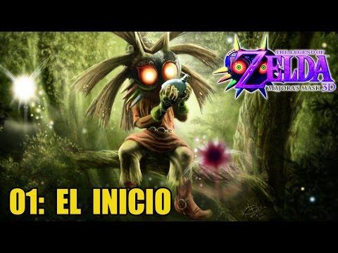 The Legend of Zelda: Majora's Mask 3D #01 - EL INICIO - Guía 100% en español