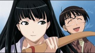 Love Hina sim date RPG-Motoko Aoyama