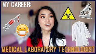 MY JOB: Medical Laboratory Technologist 👩‍⚕️💉