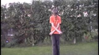 How to do the criss cross jump rope trick.