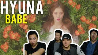 "HYUNA is a ""BABE"" (MV Reaction)"