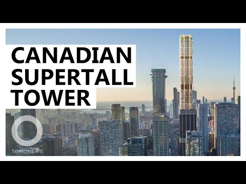 Canada's Tallest Skyscraper To Be Completed Later This Year - TomoNews