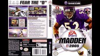 Madden NFL 2005 (Nintendo GameCube) Indianapolis Colts vs New England Patriots