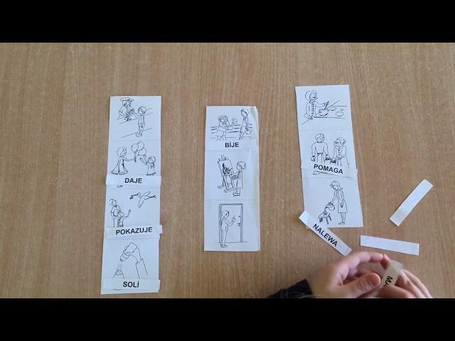 Zosia 6 lat - Supełek - Centrum Terapii Dziecka - nauka czytania metodą symultaniczno-sekwencyjną