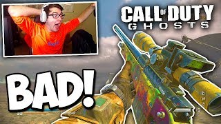 TRICKSHOTTING ON THE WORST CALL OF DUTY! (I ACTUALLY HIT)