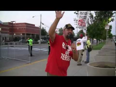 Tennessee Titans vs. Arizona Cardinals Preseason Football Street Preaching (Kerrigan Skelly)