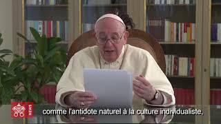 Pacte éducatif mondial, 15 octobre, Pape François