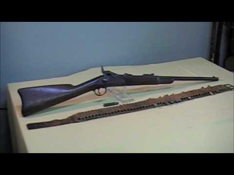 """Custer's Last Stand"" 1st Model 1873 Springfield Carbine"