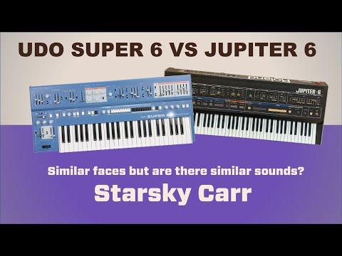 Super6 vs Jupiter6 // Vintage Classic vs Modern Evolution
