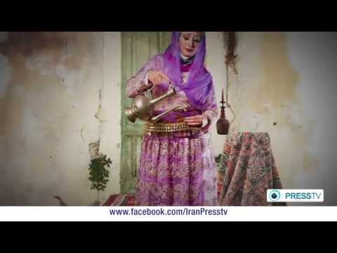 Traditional Persian Clothes Expo presstv iran program Elpida Soltani