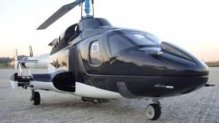 Airwolf  CRASH !!  (450 Size)Flybarless First test