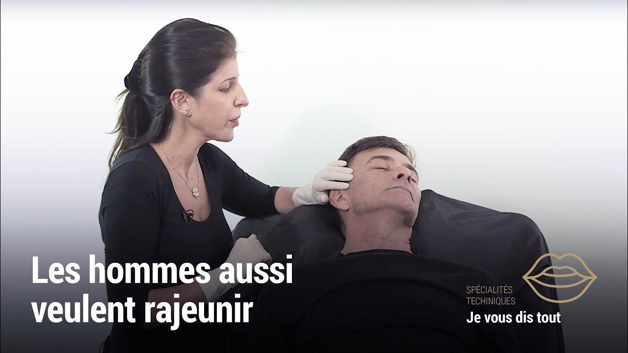 Injections visage : les hommes aussi veulent rajeunir !   MDCodes