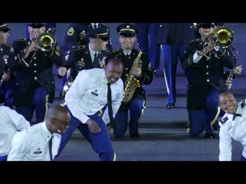 Basel Tattoo 2018 The United States Army Band & Chorus, USA  P1760307