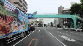 StreetView+BGM #33 - 砧公園/上野毛/第三京浜入り口/川崎