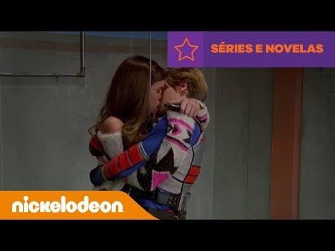 Henry Danger  Beijo no Elevador  Brasil  Nickelodeon em Português